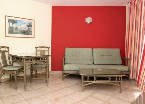 Hotelzimmer mit Tennis im Apartamentos Morasol