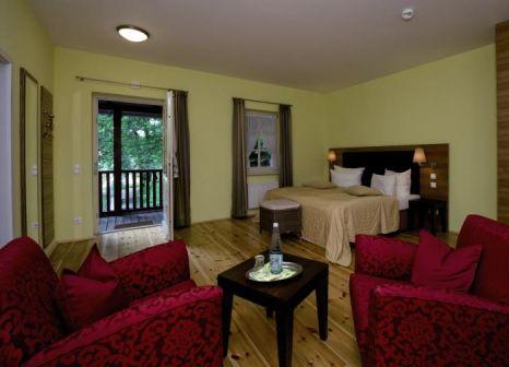 Hotelzimmer mit Tischtennis im Vitalhotel Alexisbad