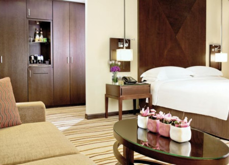 Hotelzimmer mit Golf im Media Rotana