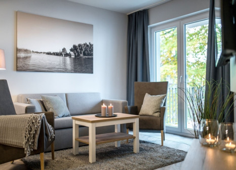 Hotelzimmer im Müritzpalais Aparthotel günstig bei weg.de
