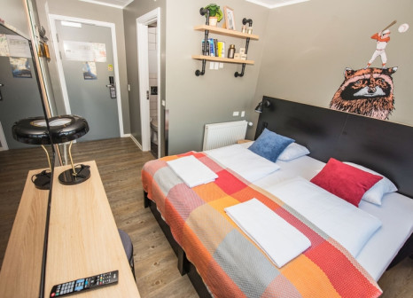 Hotelzimmer mit Animationsprogramm im Generator Copenhagen
