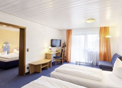 Hotelzimmer mit Tischtennis im AKZENT Hotel Alpenrose