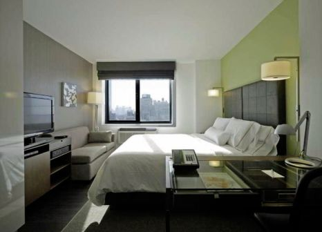 Hotelzimmer mit Fitness im Element New York Times Square West