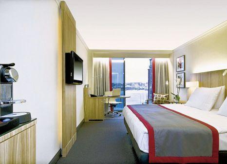 Hotelzimmer mit Aerobic im Radisson Blu Waterfront