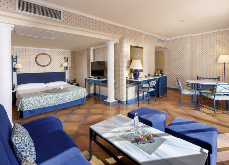 Hotelzimmer mit Mountainbike im Meliá Tamarindos