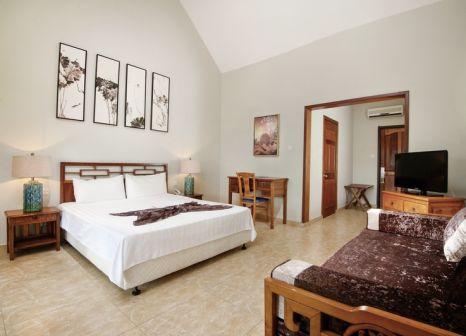 Hotelzimmer mit Yoga im Le Palmiste Resort & Spa