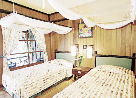 Hotelzimmer mit Paddeln im Banpu Ko Chang