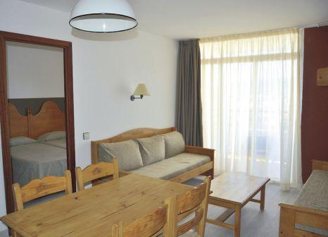 Hotelzimmer mit Tischtennis im Aparthotel Xon's Platja