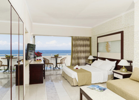 Hotelzimmer mit Mountainbike im Sunshine Rhodes