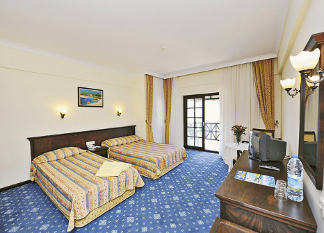 Hotelzimmer mit Volleyball im Gypsophila Holiday Village