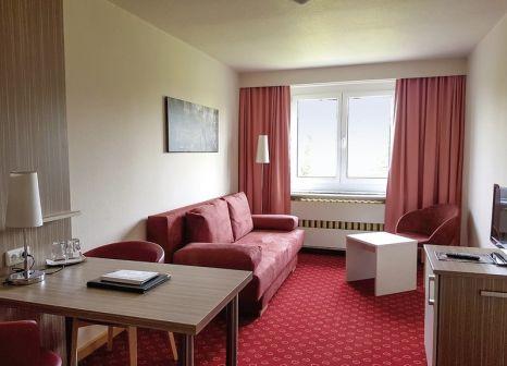 Hotelzimmer mit Mountainbike im Am Bühl