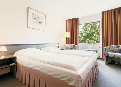 Hotelzimmer mit Sandstrand im Morada Hotel Arendsee