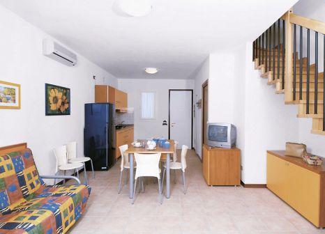 Hotelzimmer mit Tischtennis im Feriendorf Villaggio Ai Pioppi