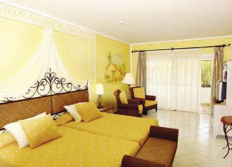 Hotelzimmer mit Volleyball im Hotel Playa Pesquero