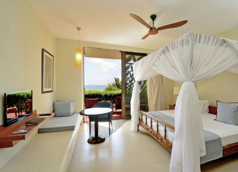Hotelzimmer mit Volleyball im Meliá Zanzibar