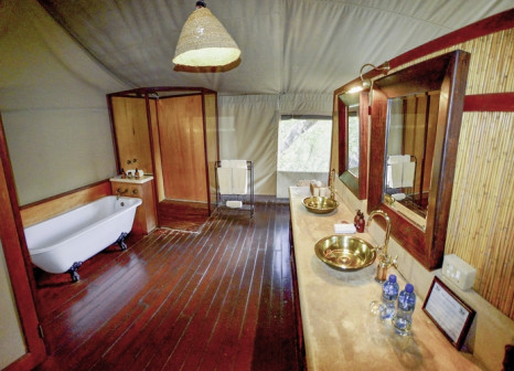 Hotelzimmer mit Pool im Thakadu River Camp
