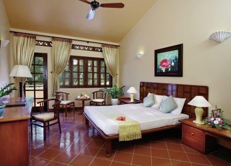 Hotelzimmer mit Mountainbike im Phu Hai Resort