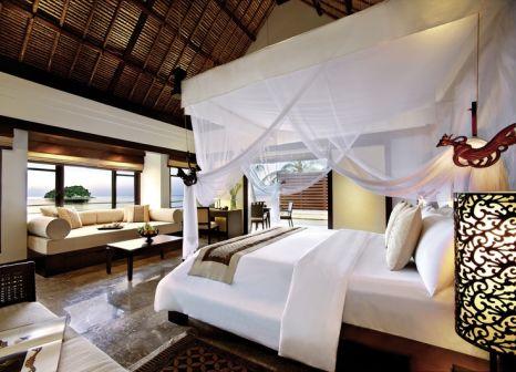 Hotelzimmer mit Volleyball im Banyan Tree Bintan