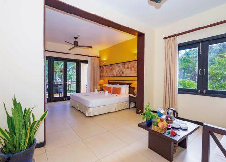 Hotelzimmer mit Volleyball im Pandanus Resort