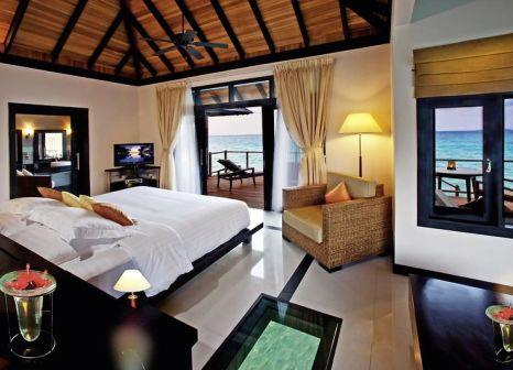 Hotelzimmer mit Minigolf im The Sun Siyam Iru Fushi