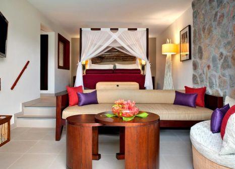 Hotelzimmer mit Volleyball im Kempinski Seychelles Resort Baie Lazare