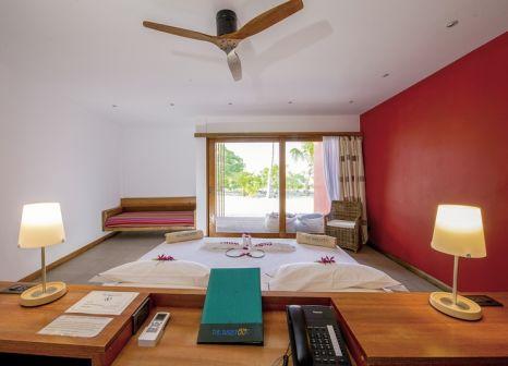 Hotelzimmer mit Mountainbike im The Barefoot Eco