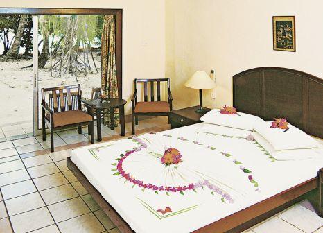 Hotelzimmer mit Tischtennis im Biyadhoo Island