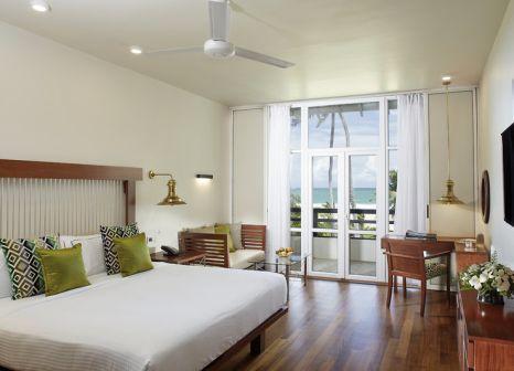 Hotelzimmer mit Mountainbike im Heritance Ahungalla