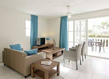 Hotelzimmer mit Mountainbike im Livingstone Jan Thiel Resort