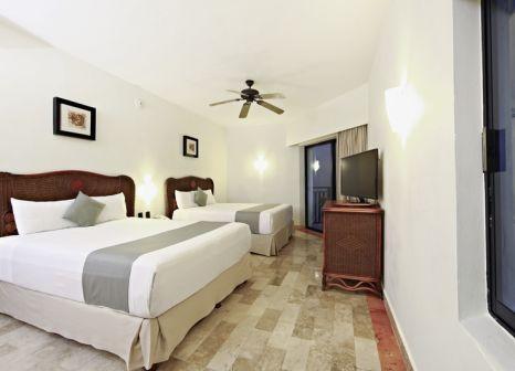 Hotelzimmer mit Volleyball im Sandos Caracol Eco Resort
