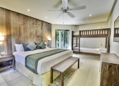 Hotelzimmer mit Mountainbike im Sandos Caracol Eco Resort