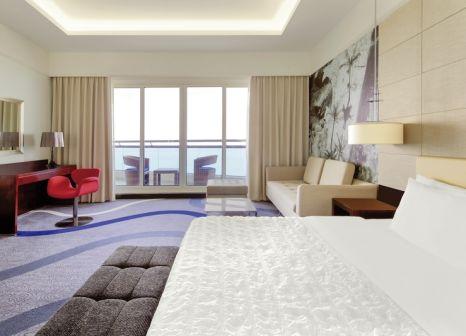 Hotelzimmer mit Minigolf im Le Meridien Al Aqah Beach Resort