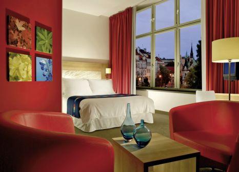 Hotelzimmer mit Mountainbike im Park Inn Hotel Prague