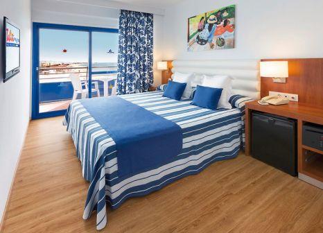 Hotelzimmer mit Mountainbike im Tahiti Playa