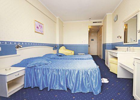 Hotelzimmer mit Mountainbike im Aphrodite