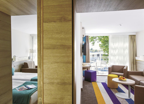 Hotelzimmer mit Volleyball im PrimaSol Ralitsa Aqua Club