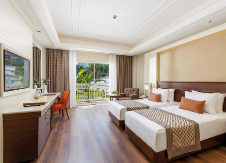 Hotelzimmer mit Yoga im Güral Premier Belek