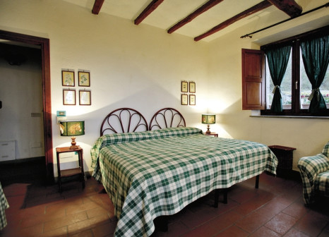 Hotelzimmer mit Mountainbike im La Riserva Montebello