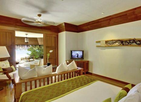 Hotelzimmer mit Yoga im Kanuhura Maldives