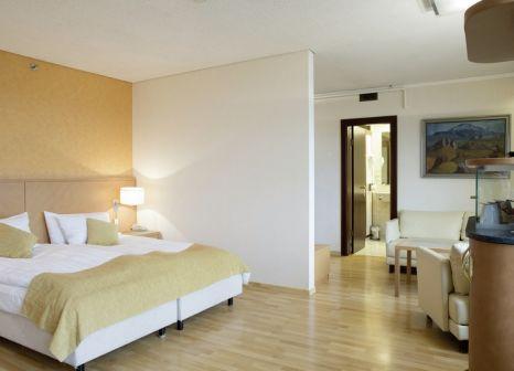 Hotelzimmer mit Aerobic im Radisson Blu Saga