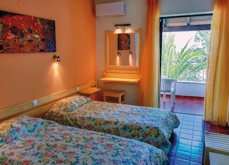 Hotelzimmer mit Tischtennis im Nautilus Barbati