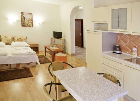 Hotelzimmer mit Sandstrand im Residence Celebic-Radovic