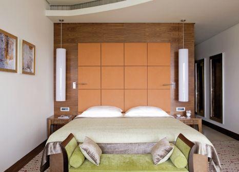 Hotelzimmer mit Mountainbike im Hotel Monte Mulini