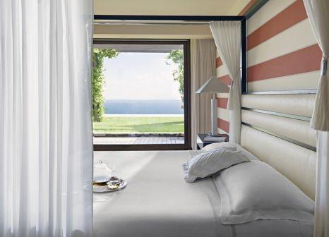Hotelzimmer mit Mountainbike im Lefay Resort & Spa Lago di Garda