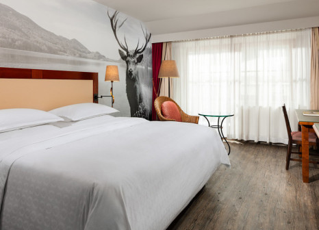 Hotelzimmer mit Fitness im Sheraton Fuschlsee-Salzburg, Hotel Jagdhof