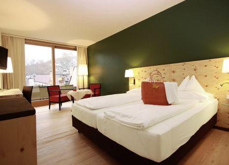 Hotelzimmer mit Mountainbike im Erzherzog Johann