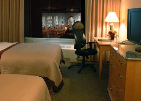 Hotelzimmer mit Animationsprogramm im Double Tree by Hilton Newark Penn Station