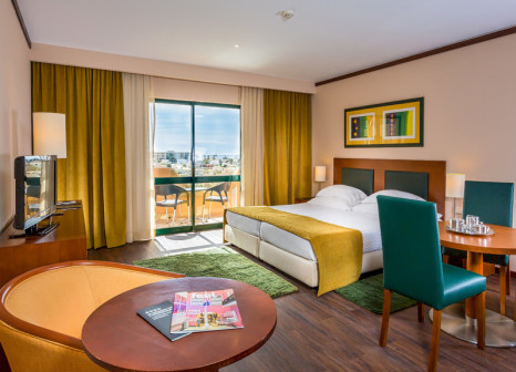 Hotelzimmer mit Golf im Vila Galé Atlantico