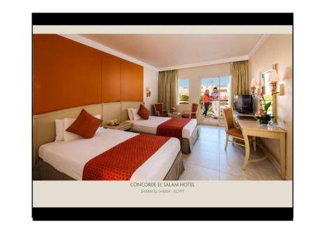 Hotelzimmer mit Volleyball im Concorde El Salam Sharm El Sheikh by Royal Tulip
