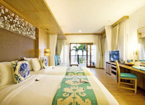 Hotelzimmer mit Volleyball im Ao Prao Resort